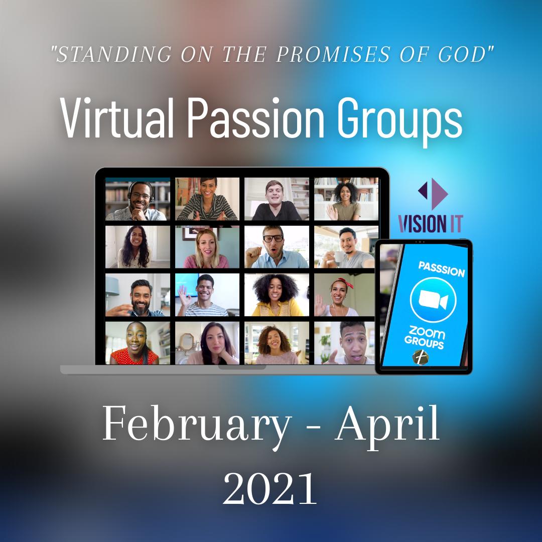Passion Groups Study Workbook Graphic