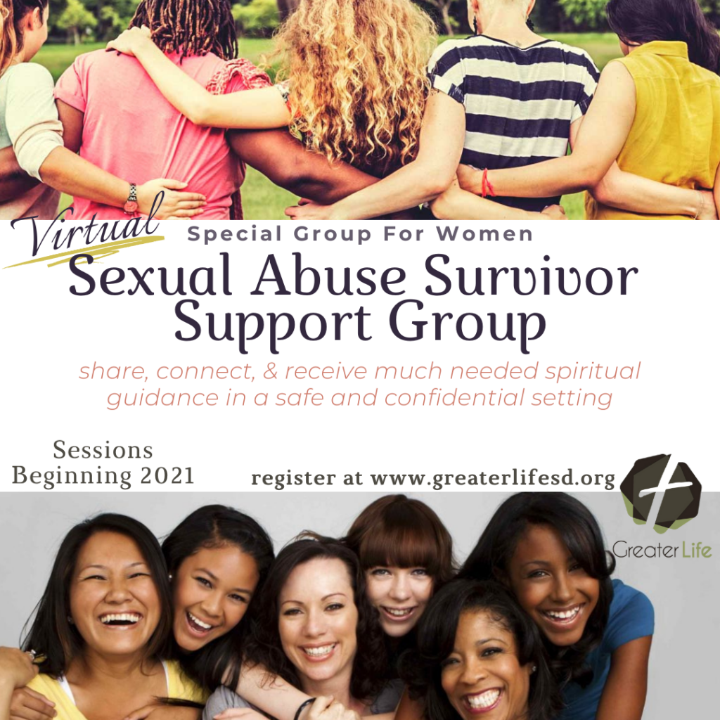 Women Sexual Abuse Survivor Support Group Graphic